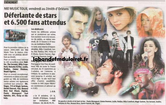article de presse 8 oct. 2004