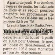 article de presse 9 nov. 1995