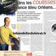"""article """"reflet du loiret """"2002"""