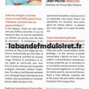 article issue du guide Orléans Pratique 2010