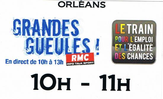 """""""les grandes gueules"""" en direct d'Orléans, le 21 mars 2011"""