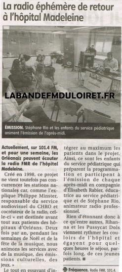 article de presse 21 juin 2011