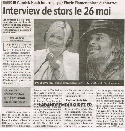 article de presse 13 mai 2011