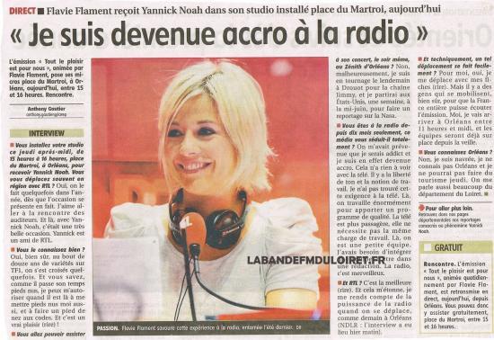 article de presse 26 mai 2011