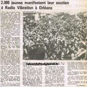 article de presse 25 fév. 1985