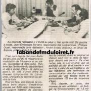 article de presse du 17 nov.1982
