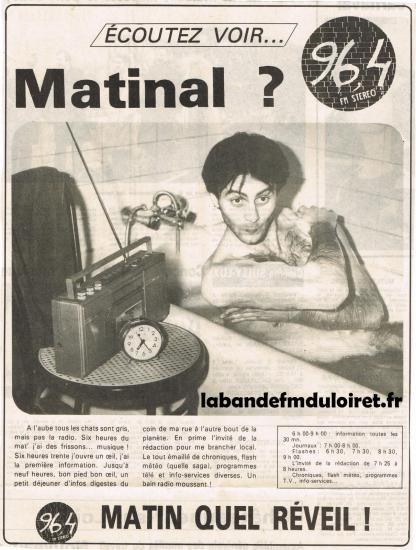 """publicité """"maison"""" printemps 1985"""