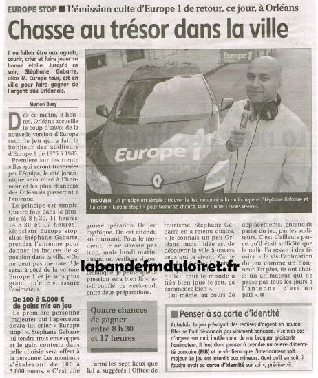 article de presse 30 mai 2011