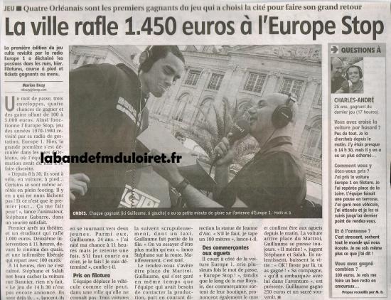 article de presse 31 mai 2011