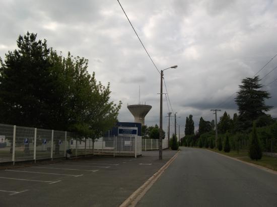 Site Groupe 1981 Amilly, rue du Général Juin (vue du site)