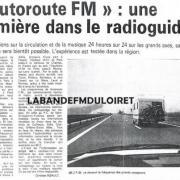 article de presse novembre 1988