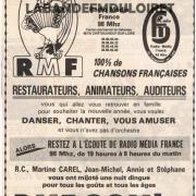 publicité fin d'année 1986