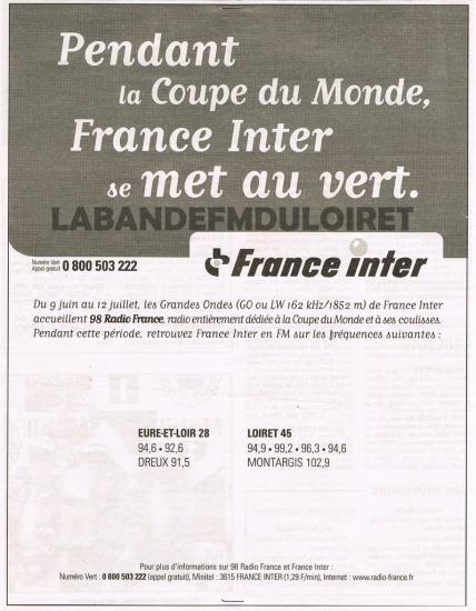 publicité juin 1998