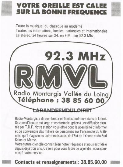 publicité dans l'annuaire de l'artisanat du Loiret ed.1989