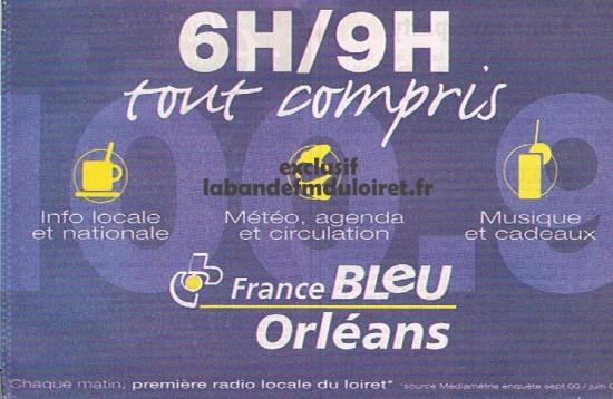 publicité fin 2001
