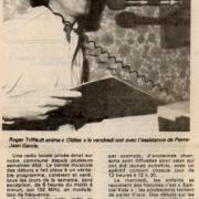 article de presse 28 mars 1983