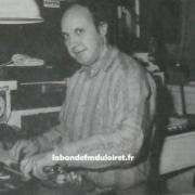 Dans le studio de RMVL en 1991