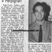 article de presse 1991
