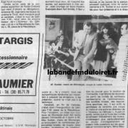 article de presse mi-octobre 1982