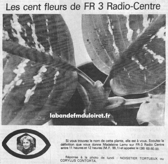 publicité 1981,avec jeu-concours