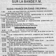 grille des programmes mars 1985