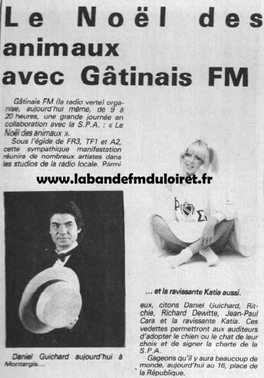 article de presse déc. 1985