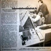 article de presse fin nov. 1981