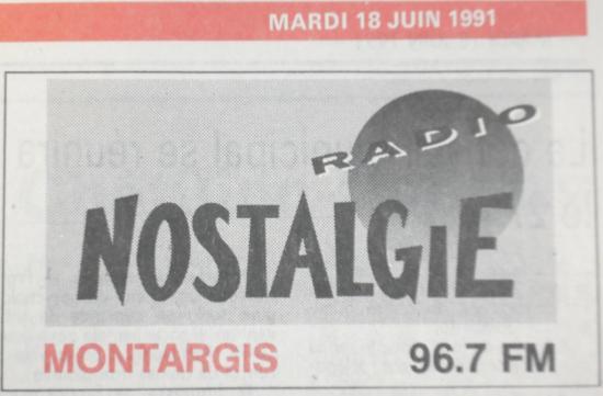 Nostalgie communique sur sa nouvelle fréquence de Montargis...