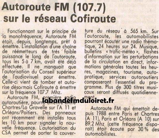 article de presse 6 juillet 1991