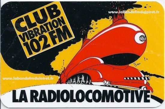 carte Vibration pour les membres très généreux (commerçcants...),vers 1983/84.