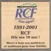 publicité 2001