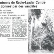 article de presse 18 avril 1989
