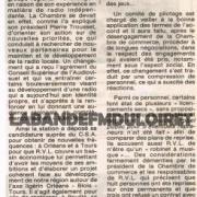 article de presse mars 1993