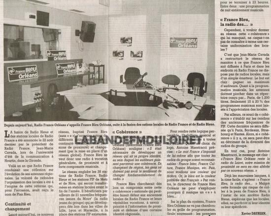 article de presse du 4 sept. 2000