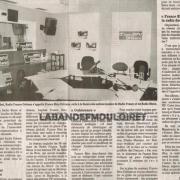 article de presse du 4 sept. 2000