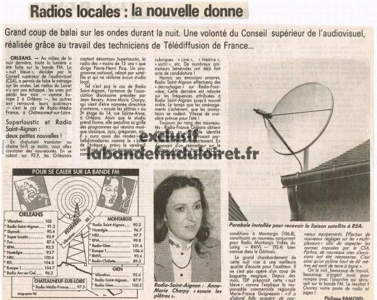 article de presse 12 juin 1992