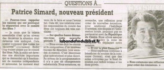 article de presse 17 juillet 2001