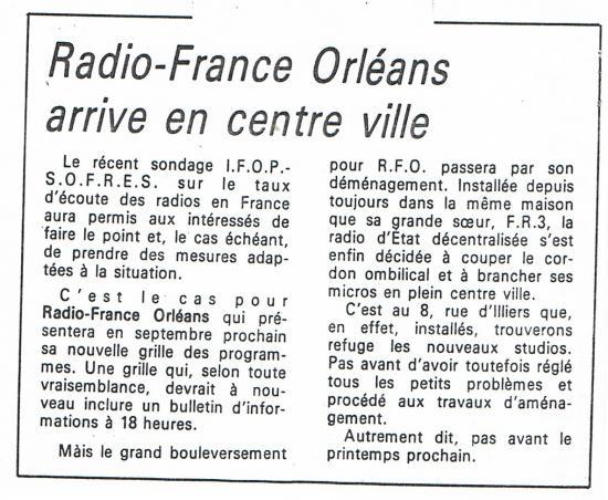article de presse 28 aout 1985