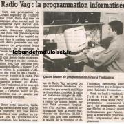 article de presse janv. 1997