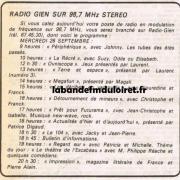 grille des programmes en juin 1984