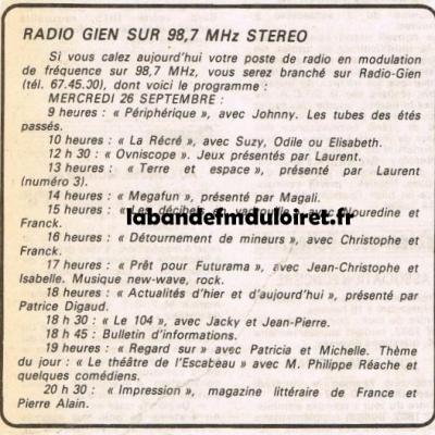 RADIO GIEN