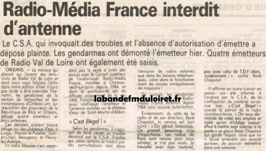 article de presse 3 oct. 1989