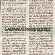 article de presse novembre 1992