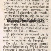 article de presse 12 décembre 1992