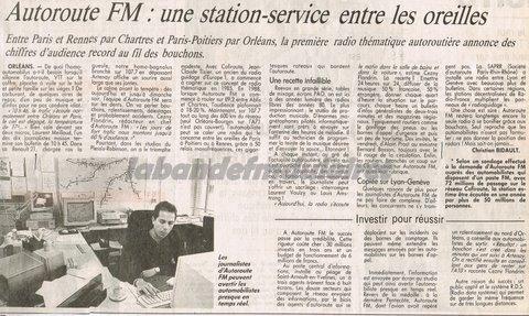 article de presse aôut 1993