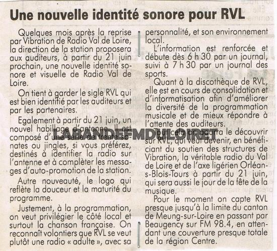 article de presse juin 1993