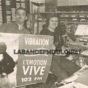 les studios début des années 90 ,rue du colombier
