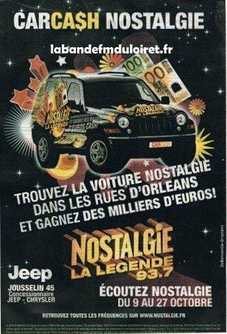 publicité pour le lancement du programme local en oct. 2006