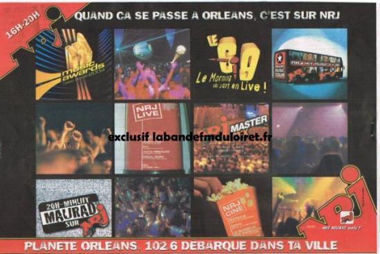 publicité 2003