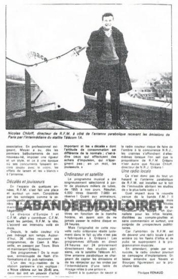 article de presse janvier 1987